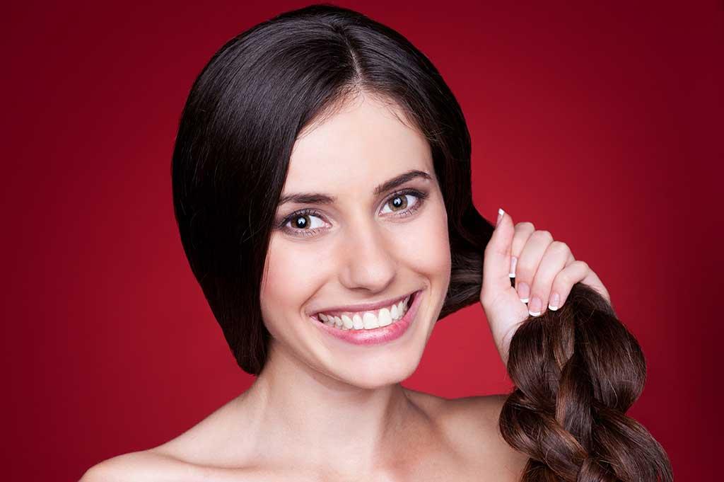 engrossar o cabelo